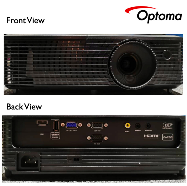 Optoma S341 DLP Projector (Used) S341_210