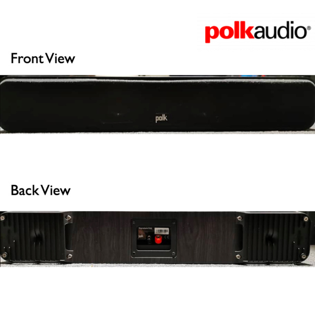 Polk Signature S35 Centre Channel Speaker (Used) SOLD S35_210