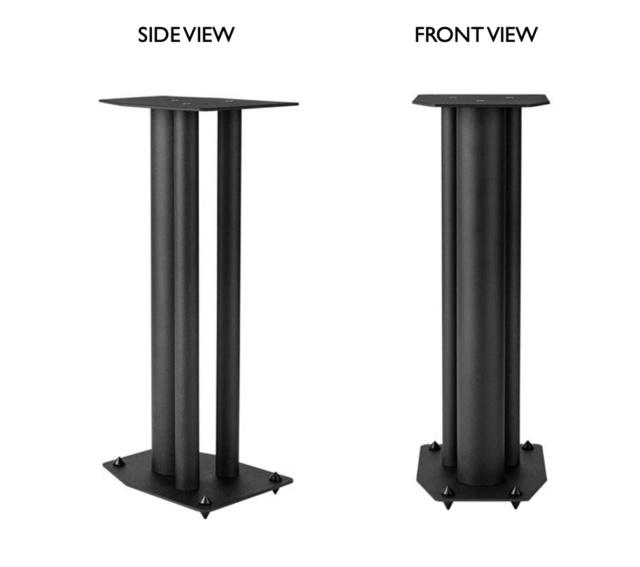 CAV Acoustic 3 column Full Metal Speaker Stand Screen34