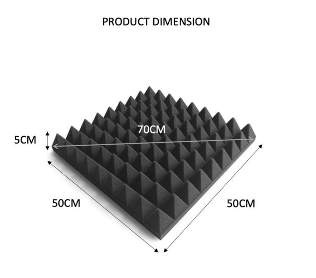 CAV Acoustic Large Pyramid Foam 1pcs (New) Screen39