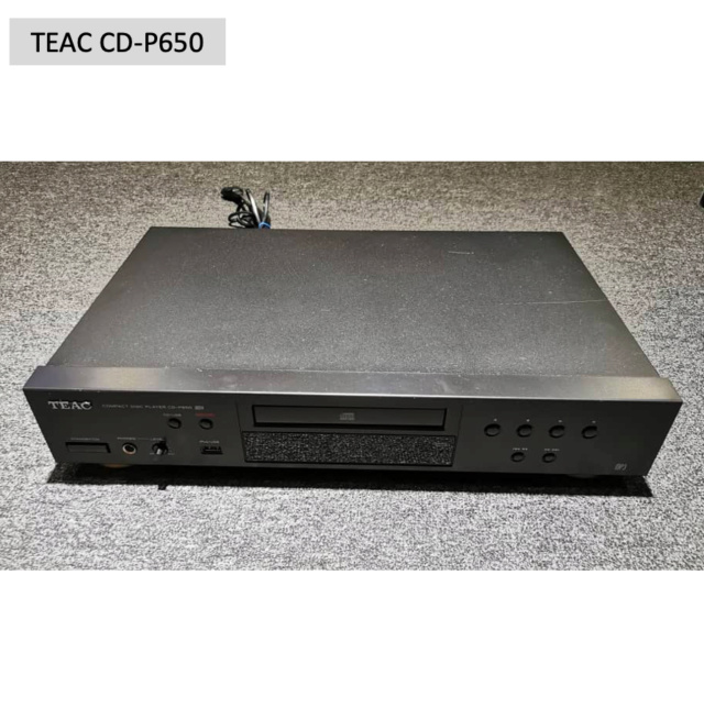 Teac CD-P650 Compact Disc Player (Used) SOLD Screen60