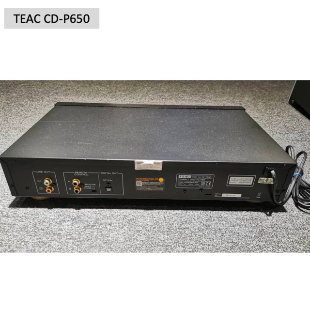 Teac CD-P650 Compact Disc Player (Used) SOLD Screen61