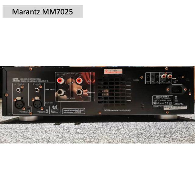 Marantz MM7025 Stereo Power Amplifier (Used) SOLD Screen64