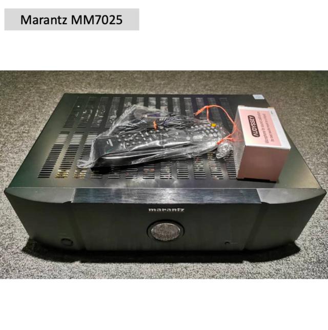 Marantz MM7025 Stereo Power Amplifier (Used) SOLD Screen65