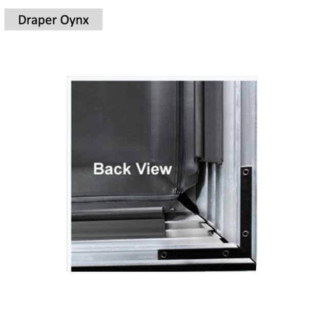 "Draper Oynx 106"" Fixed Frame Projection Screen (Used) Screen70"