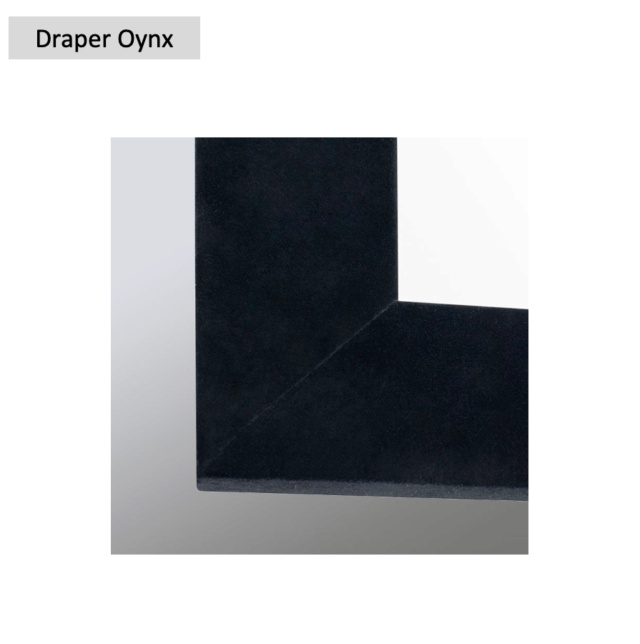 "Draper Oynx 106"" Fixed Frame Projection Screen (Used) Screen71"