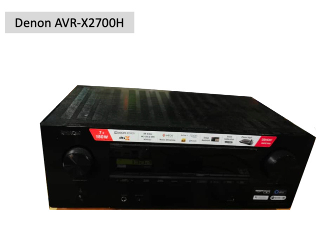 Denon AVR-X2700H 8K Av Receiver (Used) Screen77