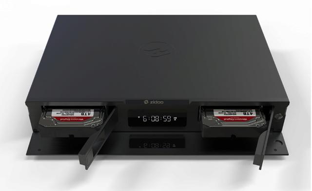 Zidoo UHD2000 Flagship 4K UHD HIFI Media Player (Used) Uhd20012