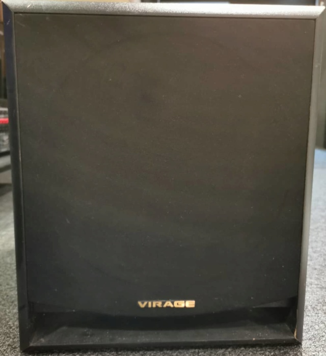 Virage PS-1000 Powered Subwoofer by USA  Whatsa46