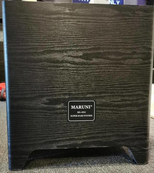 Maruni KS-1012 Powered Subwoofer SOLD Whatsa48