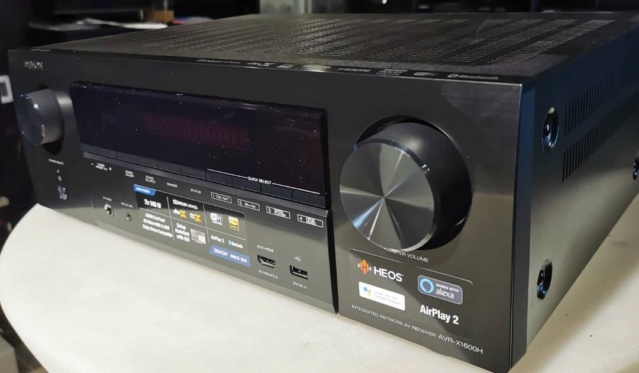 Denon AVR-X1600H 7.2ch 4K Ultra HD AV Receiver with 3D Audio and Heos (Used) Whatsa51