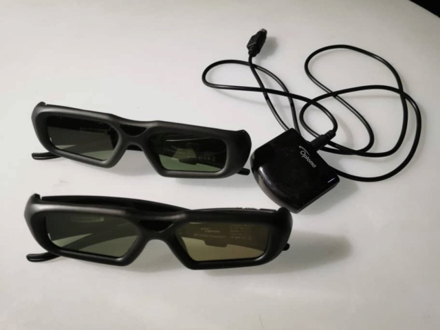 Optoma HD92 LED Full HD 3D Projector with Optoma 3D Glasses  (USED) Whatsa62