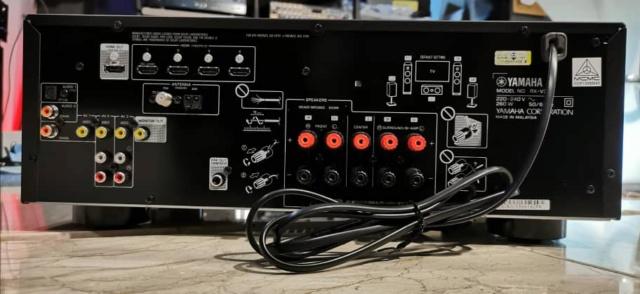 Yamaha RXV385 5.1 Channel 4K Ultra HD AV Receiver (Used) Whatsa71