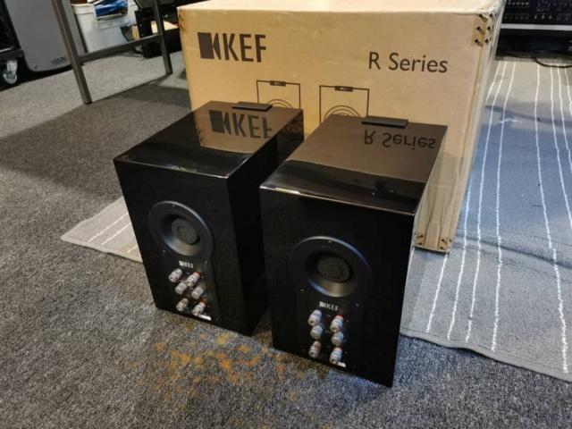 KEF R100 Bookshelf Speaker (Used) Whatsa88