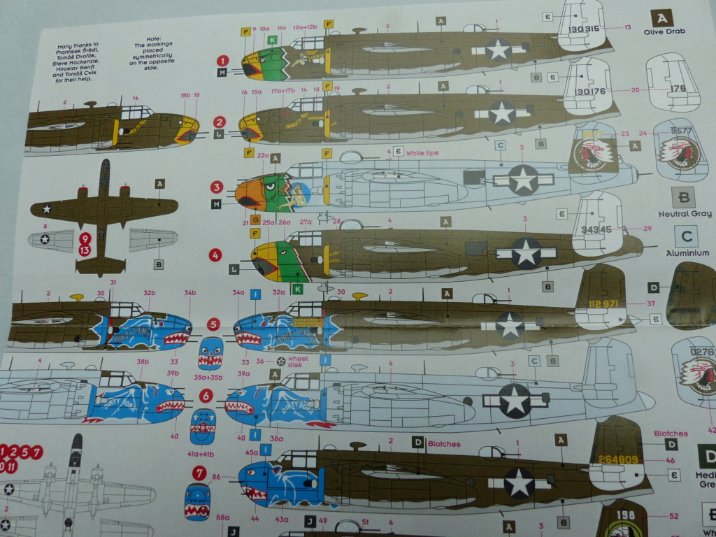 [Hasegawa] B-25J Mitchell 345th BG P1030176