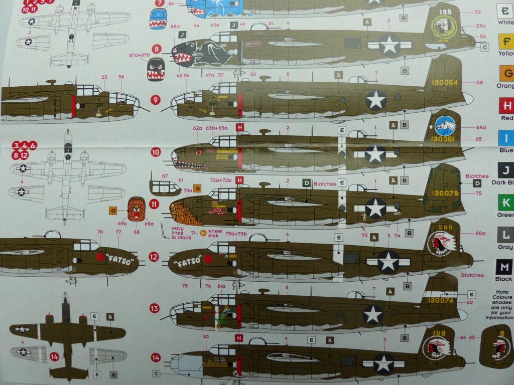 [Hasegawa] B-25J Mitchell 345th BG P1030177
