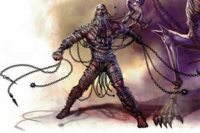 Kyton, o Demônio das Correntes de Gauntlgryn!! Chaind10