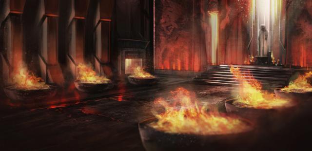 O Templo de Moradim, em Gauntlgrym!! Concep11