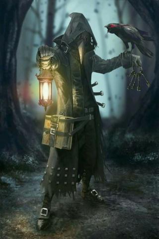 Grim Evenwood, clérigo de Kelemvor Silent10
