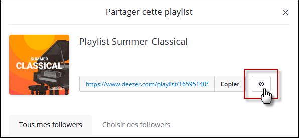 Installer de la musique sur son forum avec Deezer Playli11