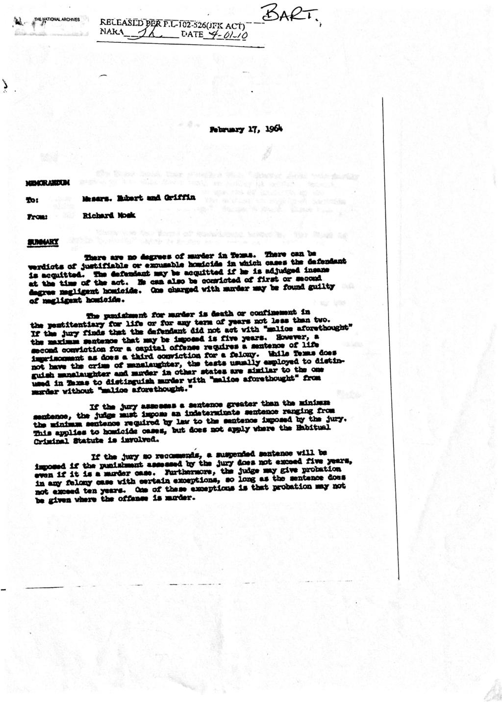 Jack Ruby & Texas Law 16dbb910