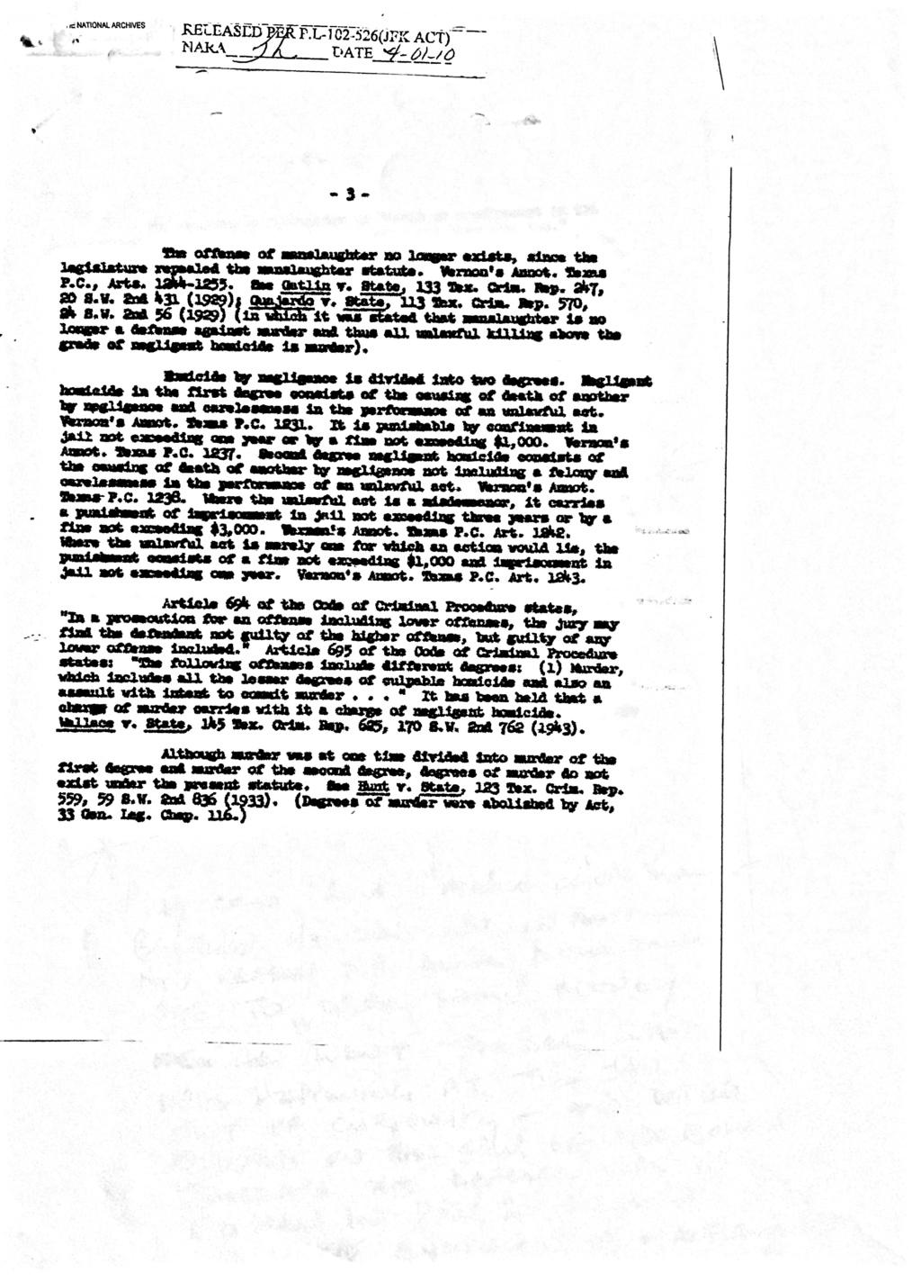 Jack Ruby & Texas Law 74587f10