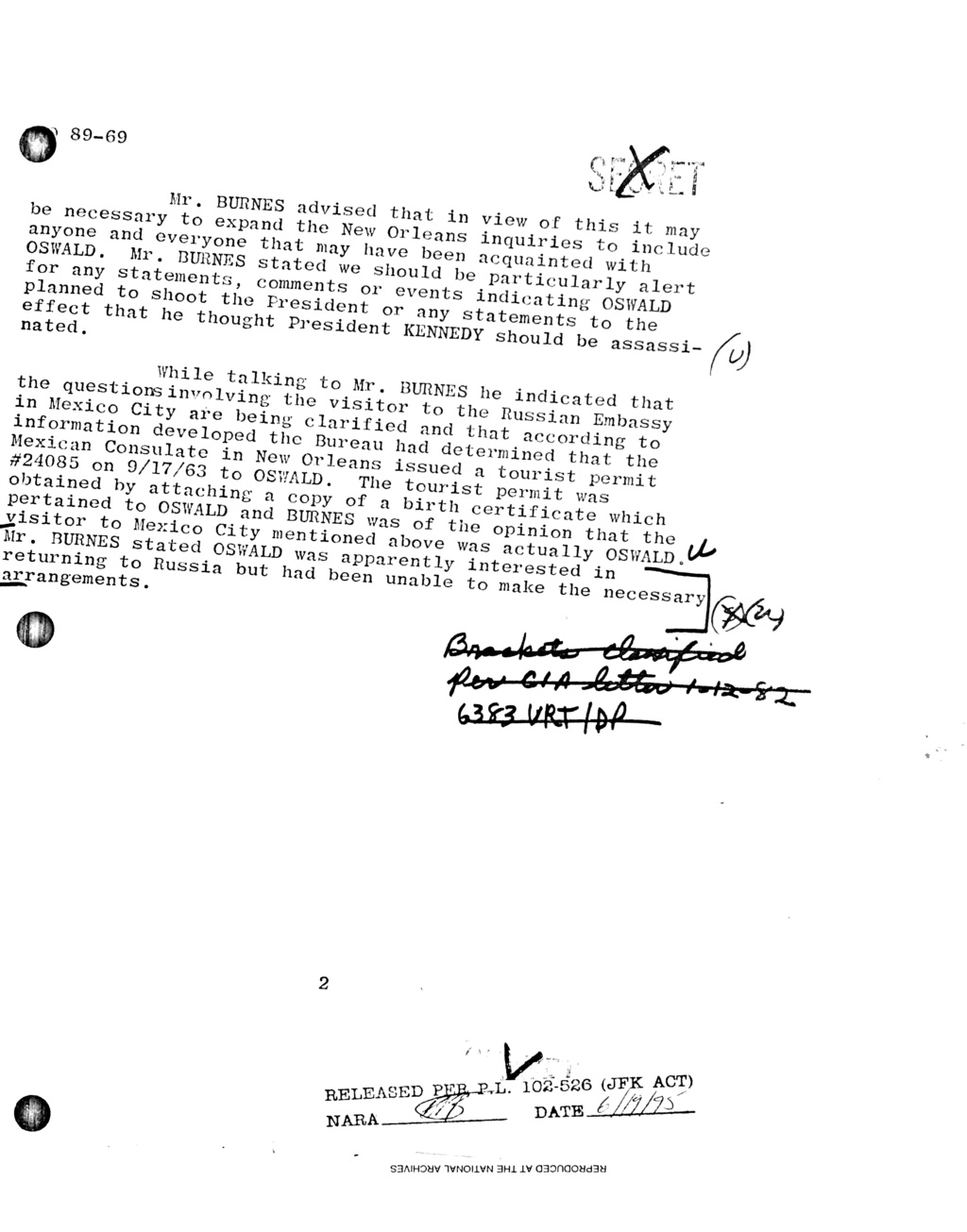 why palmer mcbride was wrong A1089b10