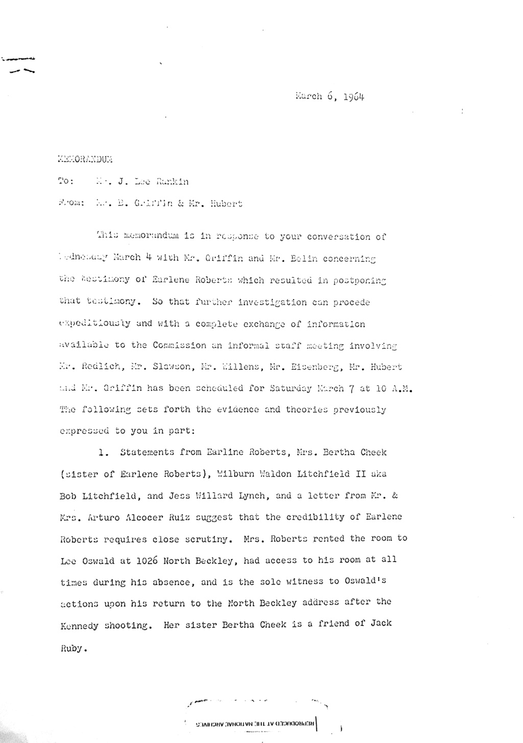 Did Oswald deny living at 1026 N Beckley?  - Page 3 Aug_1810
