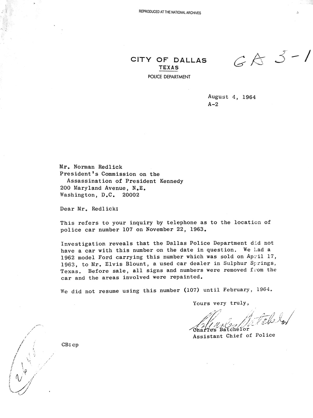 Did Oswald deny living at 1026 N Beckley?  - Page 7 Car_1010