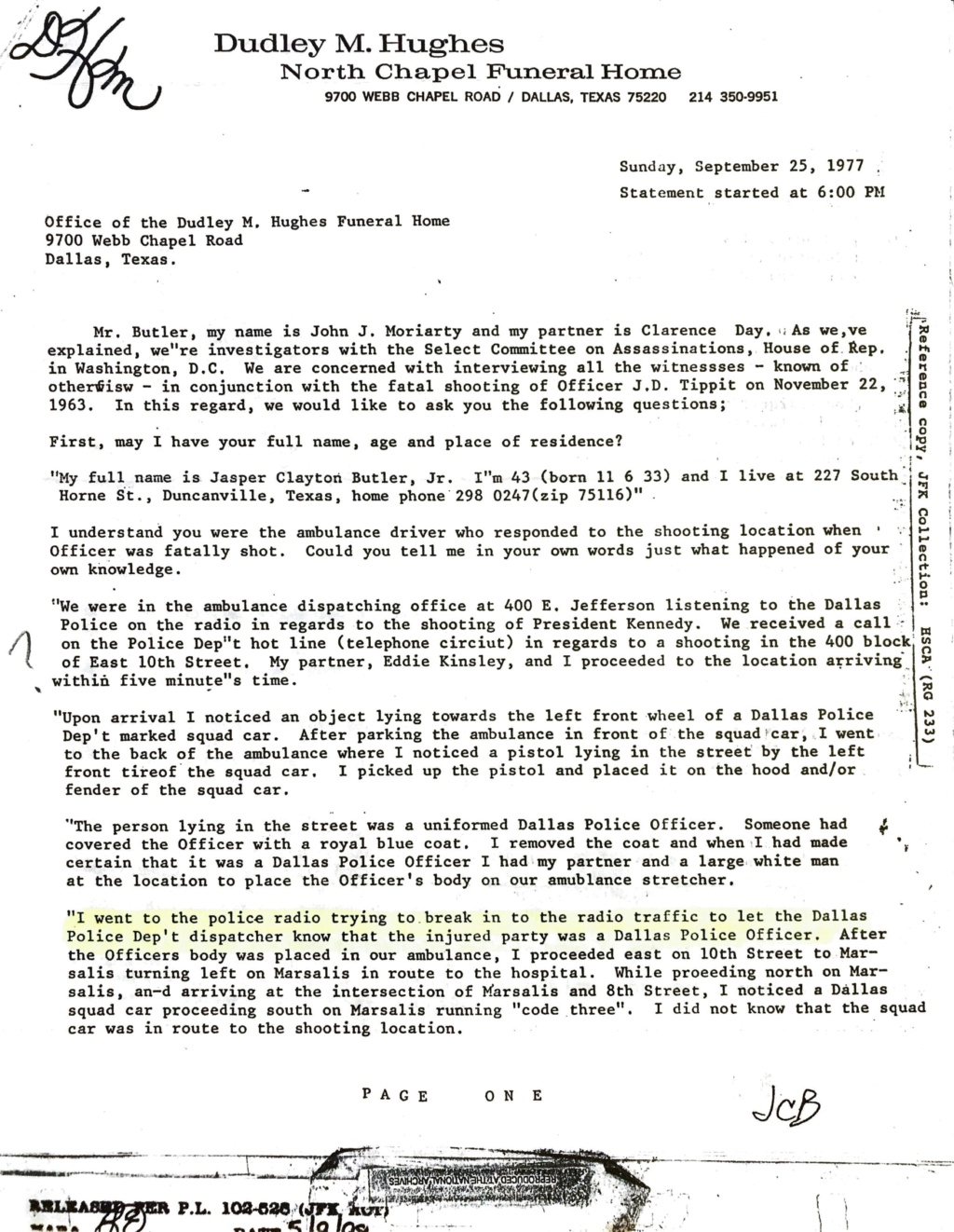 Tippit Murder - who what why and when. - Page 2 D66ec810
