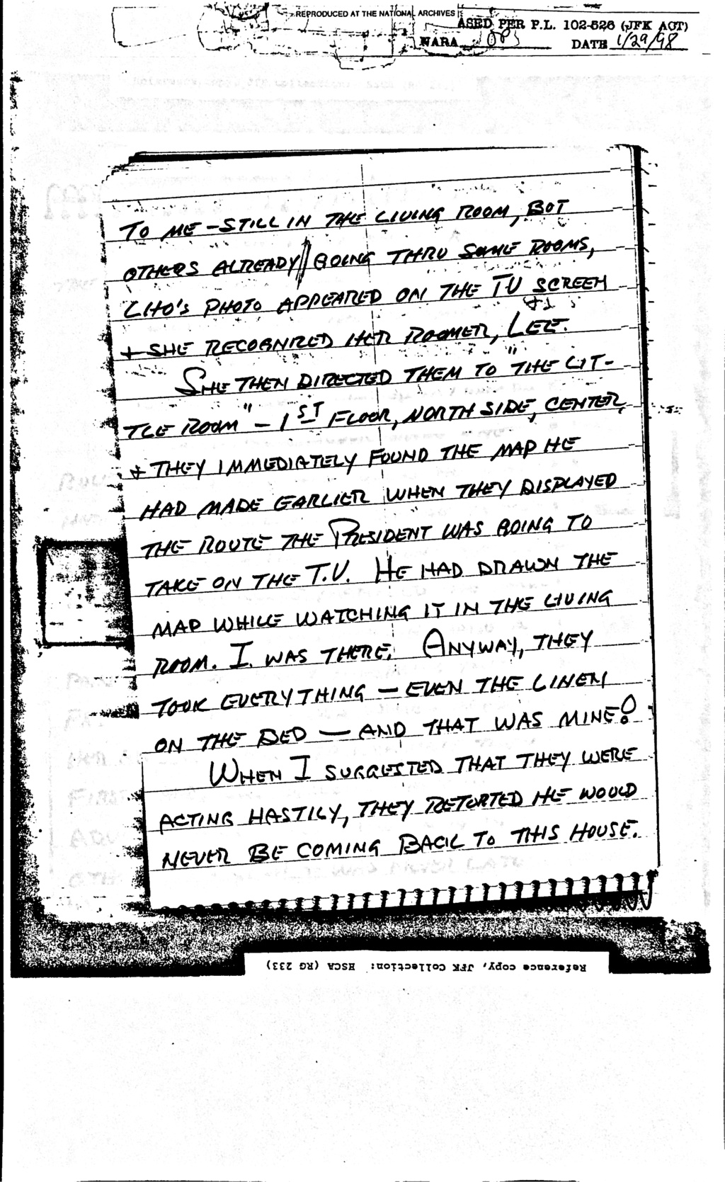 Did Oswald deny living at 1026 N Beckley?  - Page 6 Feb_8_12