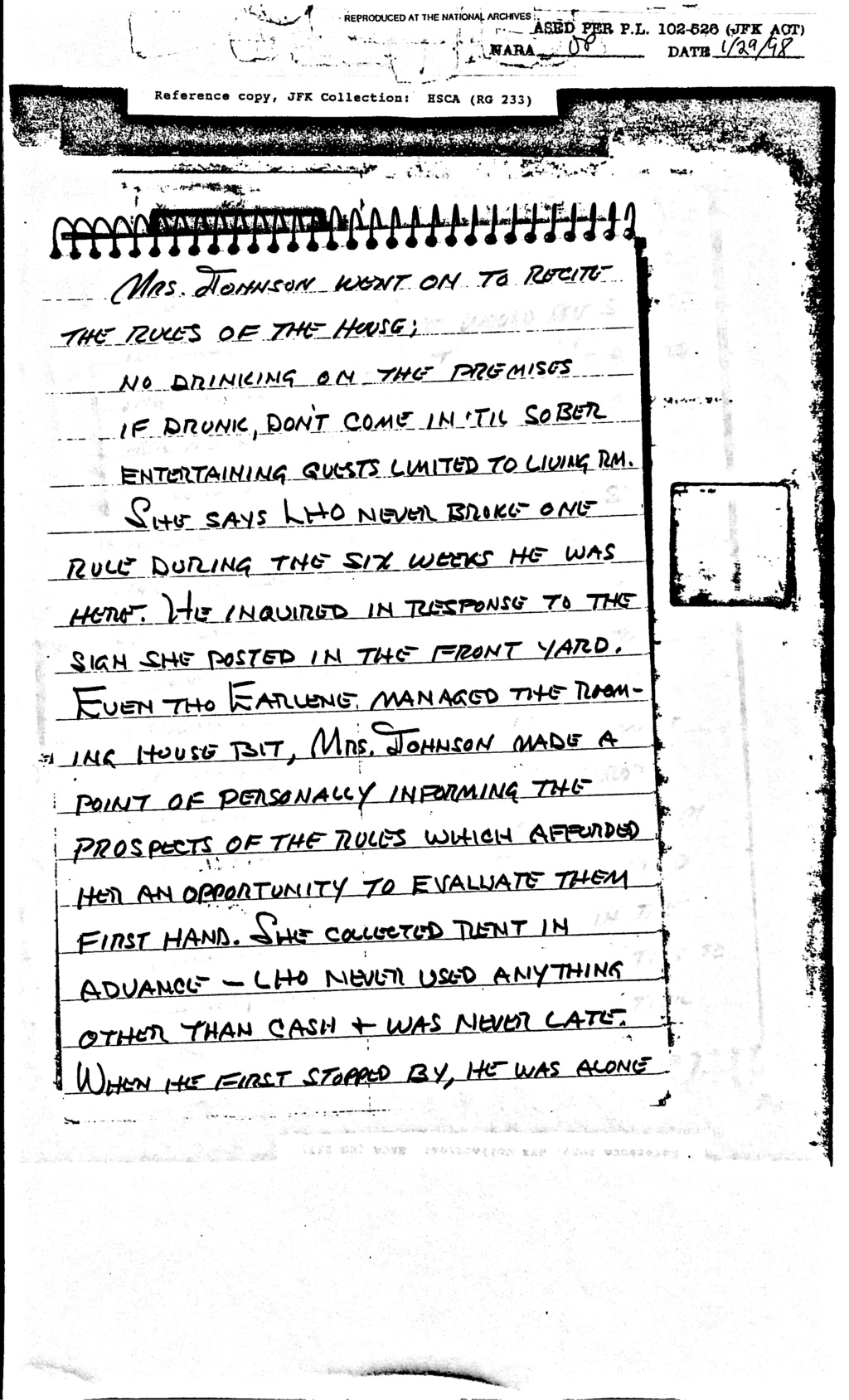Did Oswald deny living at 1026 N Beckley?  - Page 6 Feb_8_13