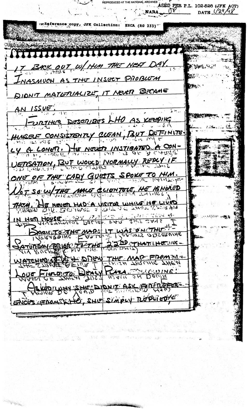 Did Oswald deny living at 1026 N Beckley?  - Page 6 Feb_8_15