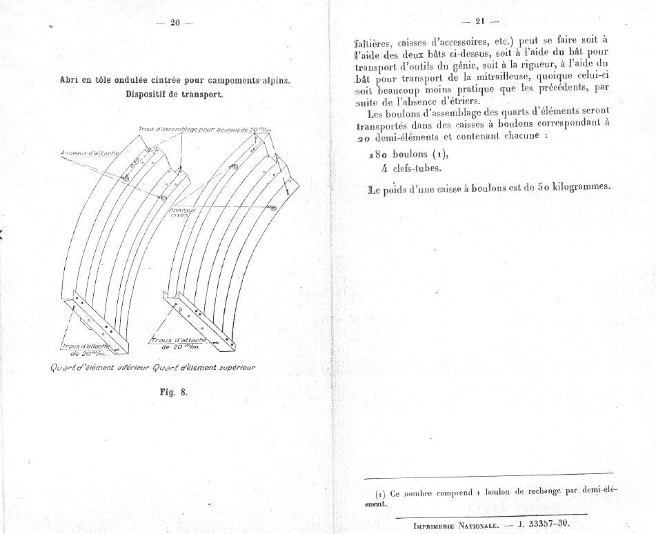 caisse abri en tole ondulée 96-15912