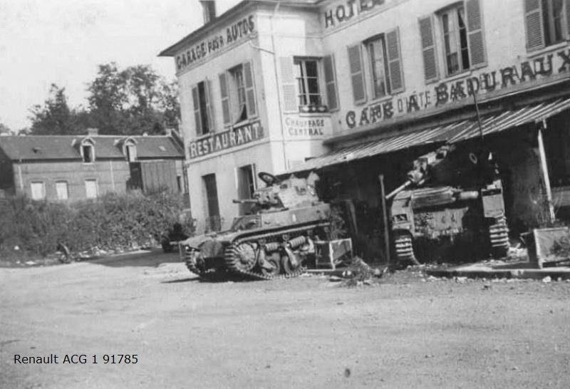 Identification de régiment de char fr  Amc_3510