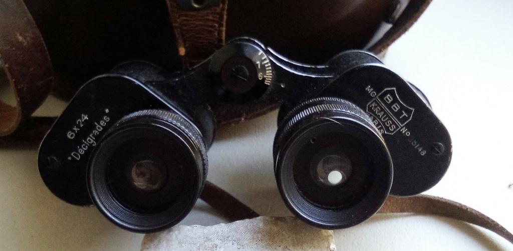 Des jumelles( Fra, GB, Autriche) et un képi du 6 eme RANA. Img_2241