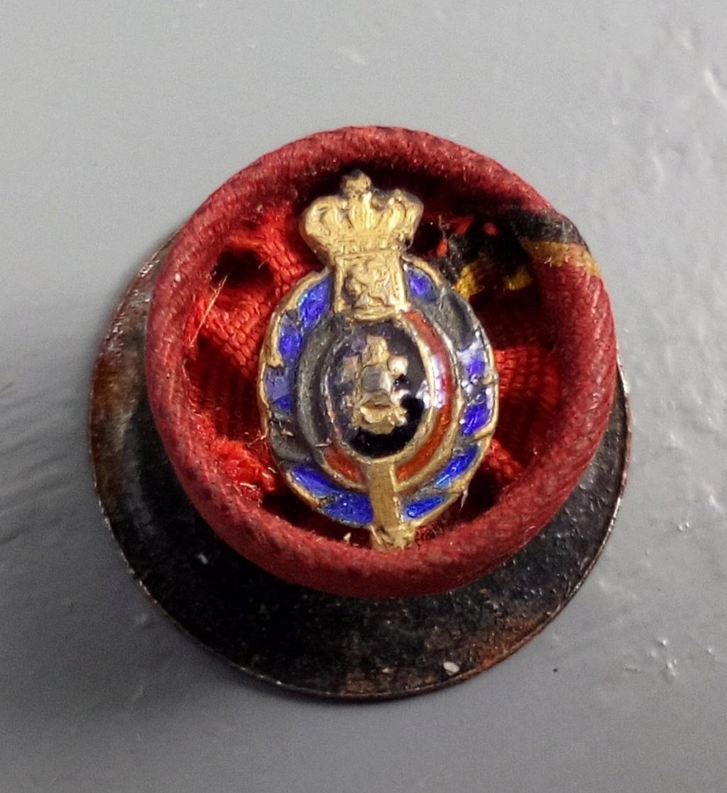 Boutonnières de décorations et insignes belges à identifier. Img_2256