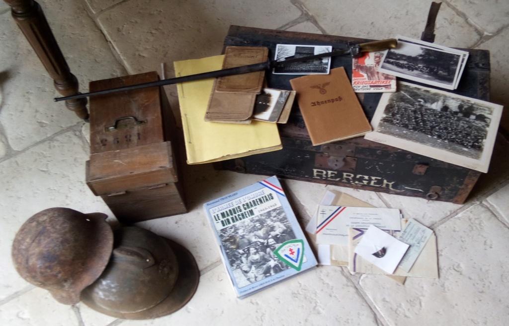 Vides greniers: Malle, FFI, Rosalie, photos, géologie ,coques, Bir Hacheim... Img_2263
