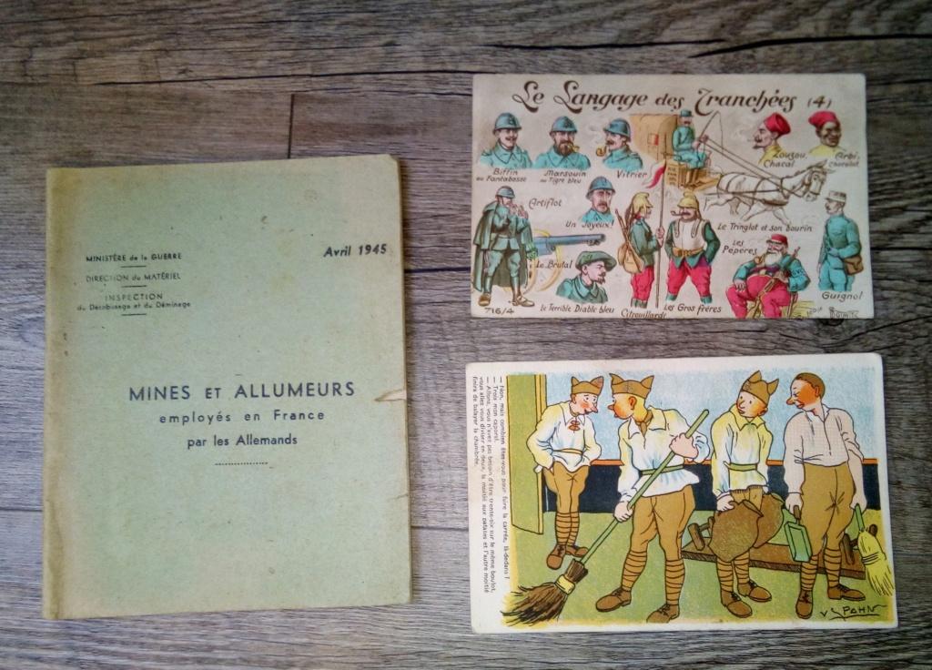 brocante...divers manuels, cartes postales aviation et autres,BDP et une suprise Img_2445