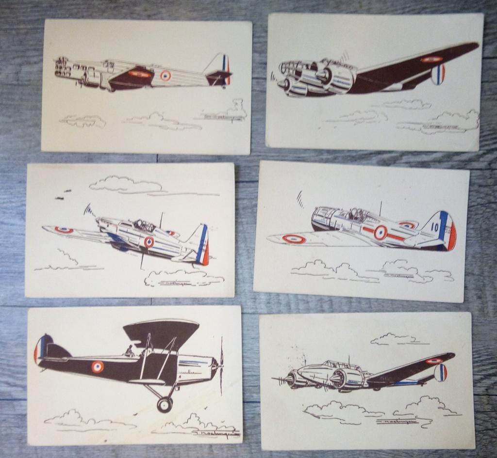 brocante...divers manuels, cartes postales aviation et autres,BDP et une suprise Img_2446