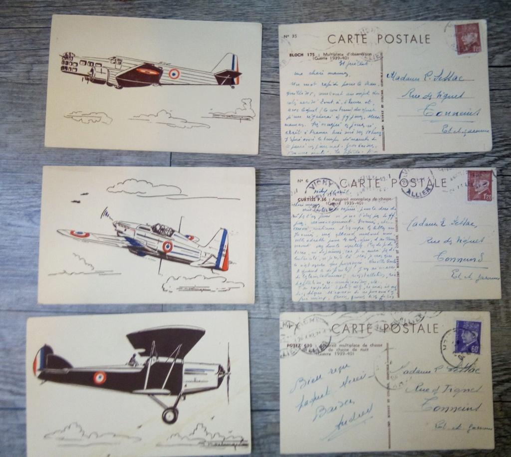 brocante...divers manuels, cartes postales aviation et autres,BDP et une suprise Img_2448