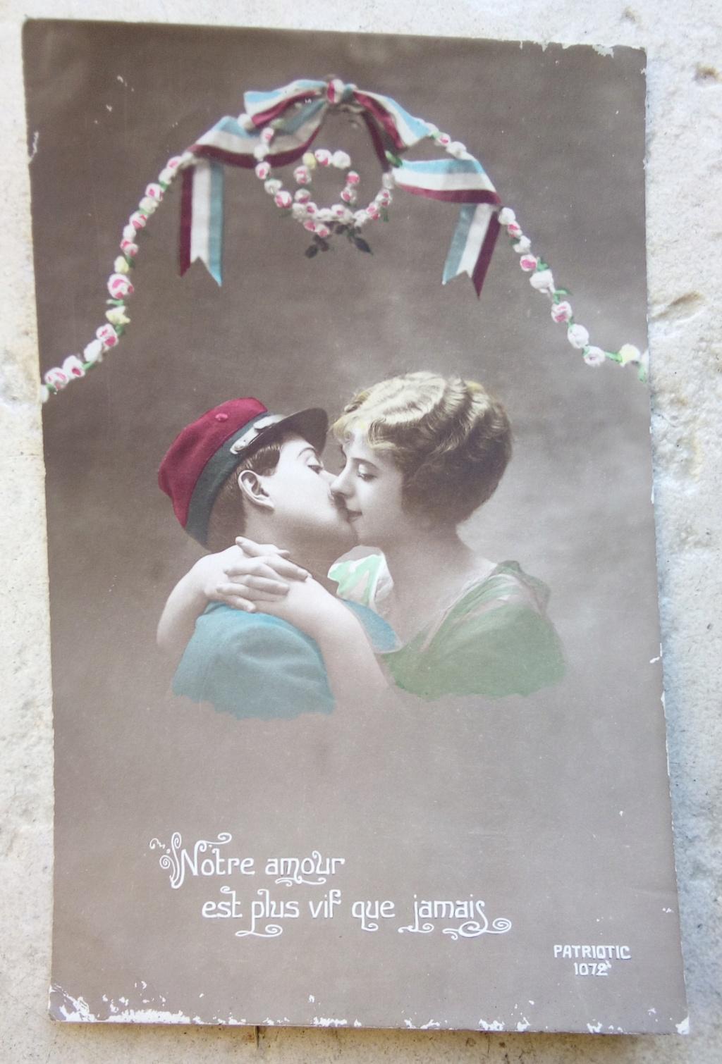 Cartes postales patriotiques françaises de la Grande Guerre - recensement - Page 2 Img_2811
