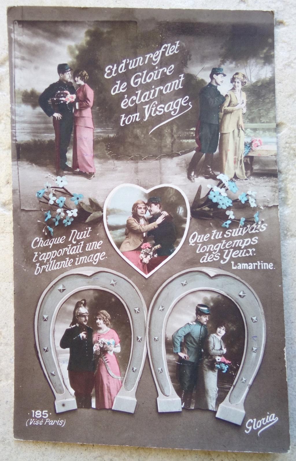 Cartes postales patriotiques françaises de la Grande Guerre - recensement - Page 2 Img_2814