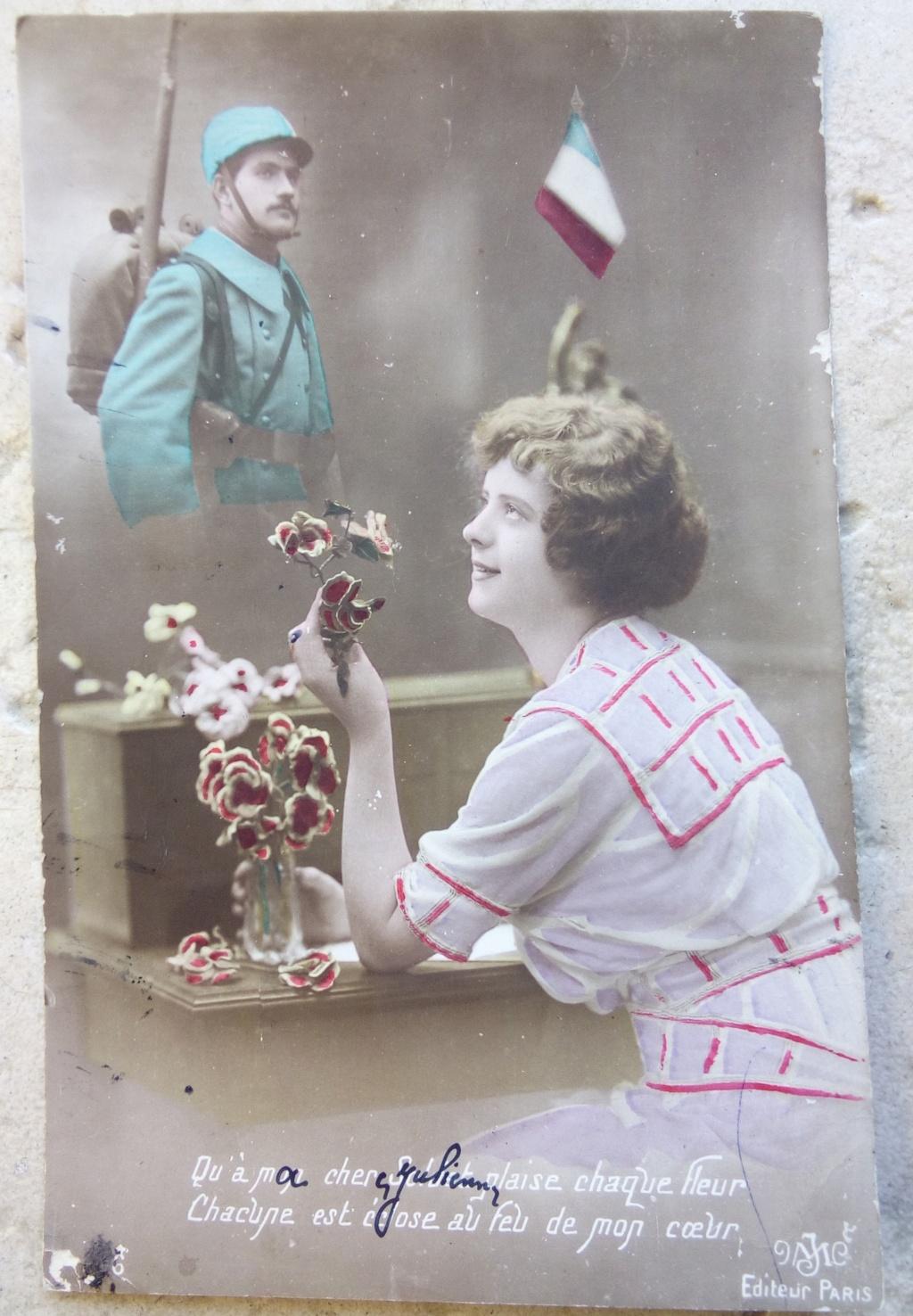Cartes postales patriotiques françaises de la Grande Guerre - recensement - Page 2 Img_2815