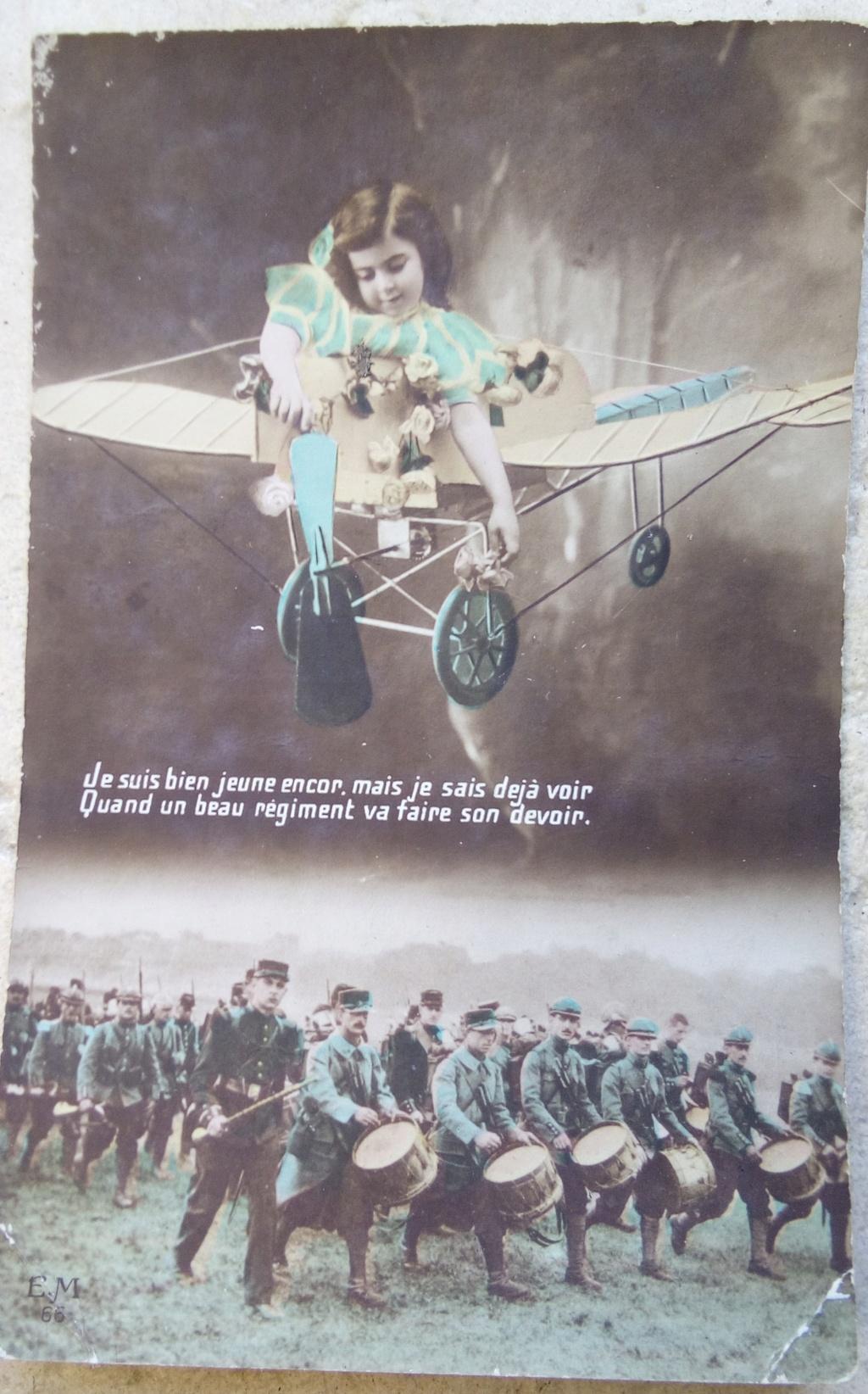 Cartes postales patriotiques françaises de la Grande Guerre - recensement - Page 2 Img_2816