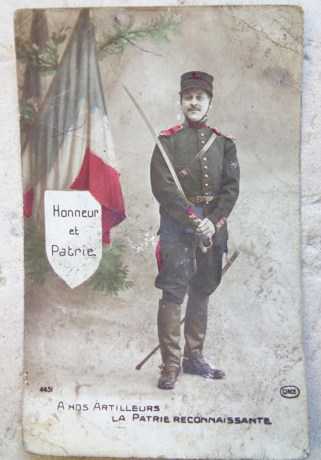 Cartes postales patriotiques françaises de la Grande Guerre - recensement - Page 2 Img_2817