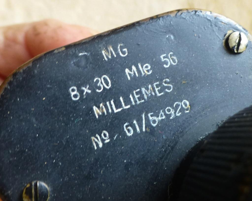 Datation jumelles HUET TRINOTIX 8x30 Mle 1930 P1070324
