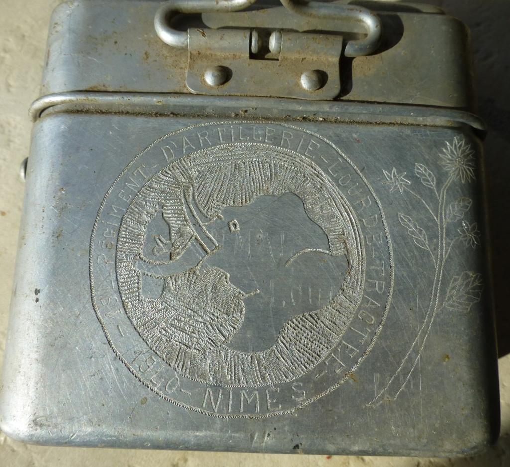 gamelle 35 gravée du 194 ème RALT   1940 P1070663