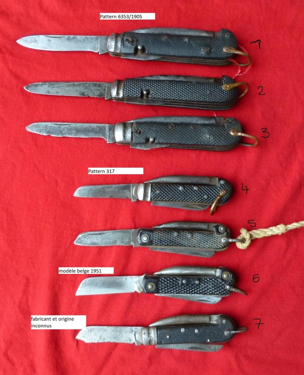 les couteaux pliants militaires. P1070750