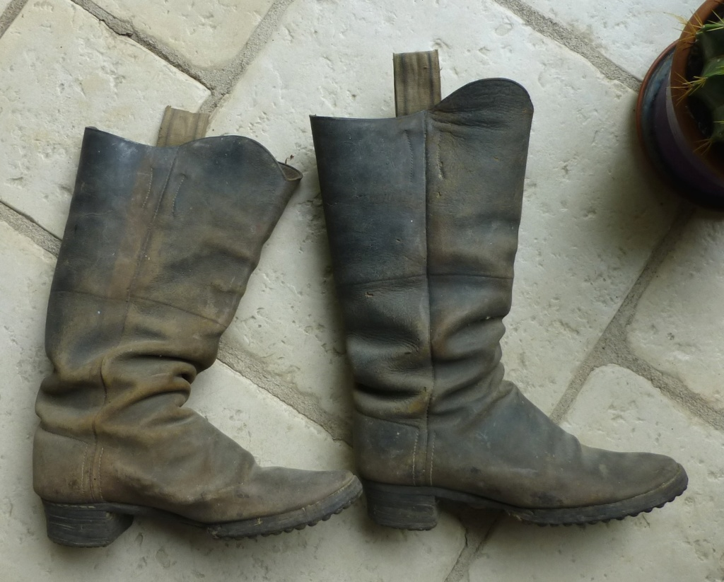 identiication bottes, militaires? de cavalier? P1080157